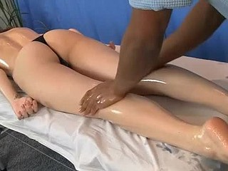 Wet Crack massage and booty massage fuck