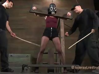 whore cries whilst being punished