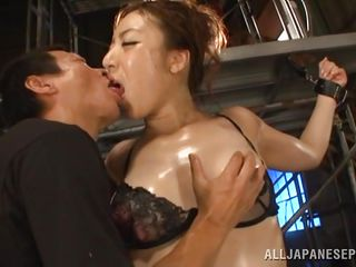 tall asian woman fucked by short guys
