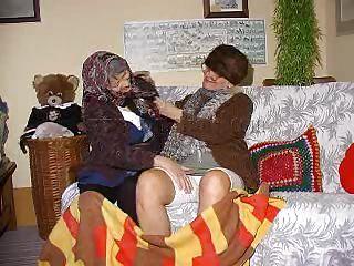 two lustful grannies