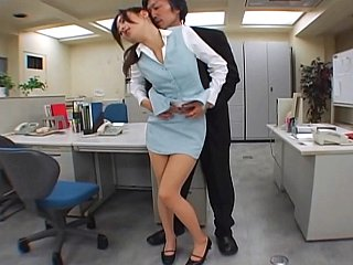 Japanese office sex. Hose fetish