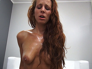 Vehement Redhead Receives Hard Fuck with Cheerful Ending