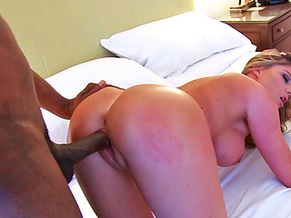 Brianna Brooks having interracial sex with some hung ebony chap