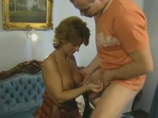 Redhead Aged German Mom