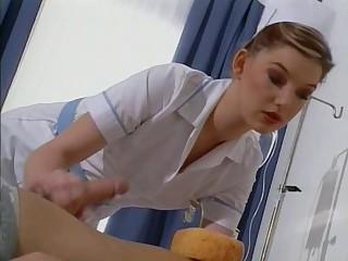 British slut Sarah acquires fucked dressed as a nurse