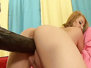 Cute Mailey Jane's wet crack nearly explodes after a godzilla dick is stuffed in there!