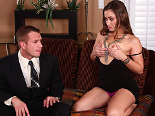 Dani Daniels Seduce Her Husband's Twin