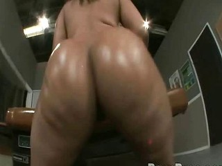 Sierra and Kim acquire nasty horny with their bouncing asses!