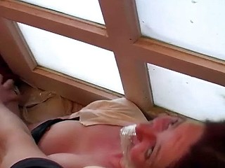 She comes over for a gulp and gets tied up and abused and fucked hard