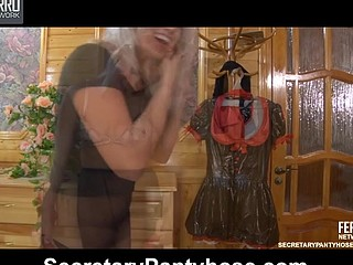 Susanna&Robin uniform hose movie