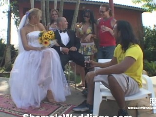 Alessandra shemale bride on movie