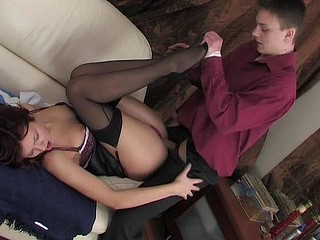 Patricia&Paul nasty nylon action