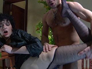 Inessa&Herbert naughty nylon feet movie