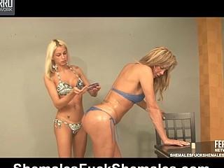 Alexia&Dani ladyman copulates sheboy clip