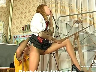 Alice&Mike perverted hose job video scene