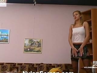 Antoinette&Maurice hawt nylon video
