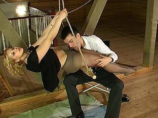Luba&Mark kinky pantyhose job episode