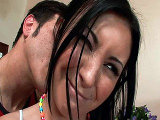 Legal Age Teenager Slut Jackie Daniels can't acquire enough cock!