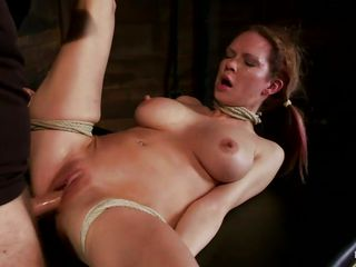 golden-haired getting fucked and suffocated hardcore