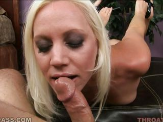 horny kacey villainess plays with a massive cock