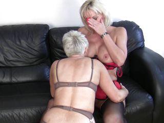 mature blonde lesbian babes having enjoyment and hard sex
