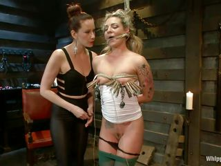 hot babe can't live without being punished