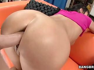 Hawt milf Eva Karera  receives her amazing wazoo fucked