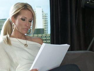 Beautiful writer Jessica Drake dreaming of sex
