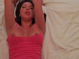 Kendra White engulfing upright cock and getting drilled during hardcore