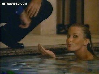 Breathtaking Retro Blonde Bo Derek Swimming Totally Naked