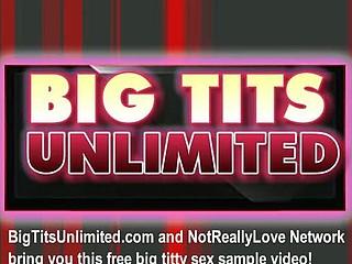 Large tit blond masturbating
