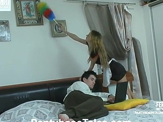 Leah&Vitas phat pantyhose movie