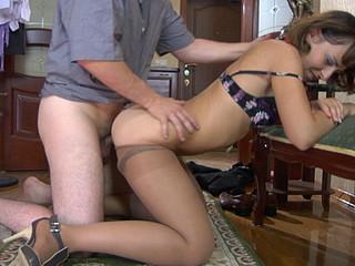Viola&John  amazing pantyhose episode scene