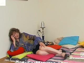Rebecca&Emmanuel lezzy mama on movie scene scene