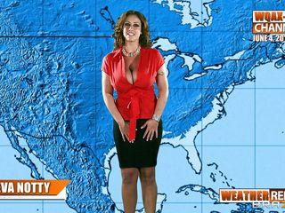 eva notty on the weather forecast