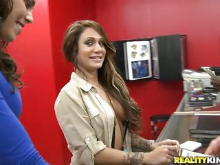 hot brunette hair taylor needs cash