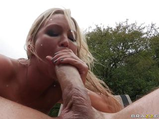 abbey brooks receives a biggest dick in her asshole