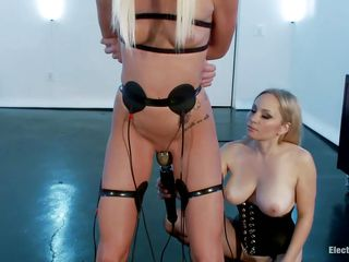 watch 2 blonde lesbians having a perverted time together