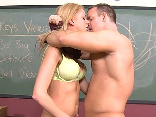Schoolgirl struggles with a older dick also huge for her