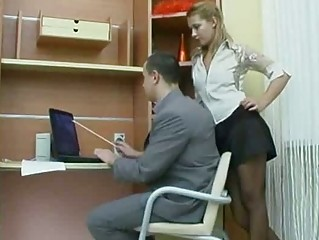 Very Hot Russian Dilettante Secretary