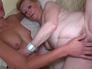 Old lesbian Granny