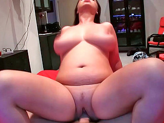 Sirale sucking stiff monster cock and riding on it masterfully