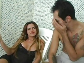 Hot lady-boy savors sex delights