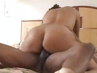 Horny slut fucked hard in the bedroom