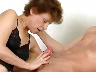 Mature German lady gets nailed - Inferno Productions