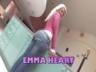 Phat Booty Blonde Emma Heart Gets Drilled Hard Up Her Big Curvy Gazoo