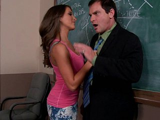 Sexy Lizz and her mad teacher