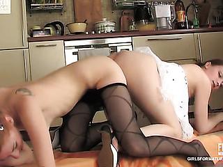 Rita&Nolly pussyloving mommy on movie