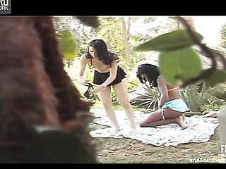 Miriany cute tgirl on movie scene