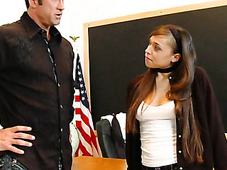 Legal Age Teenager slut punished by coach